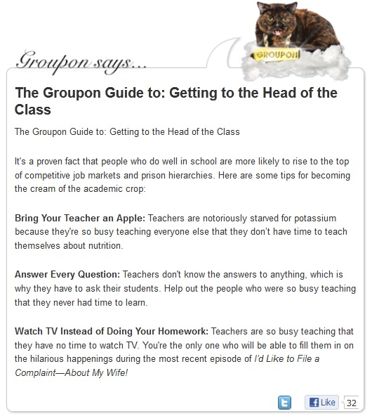 groupon teachers