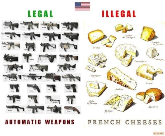 guns and cheeses