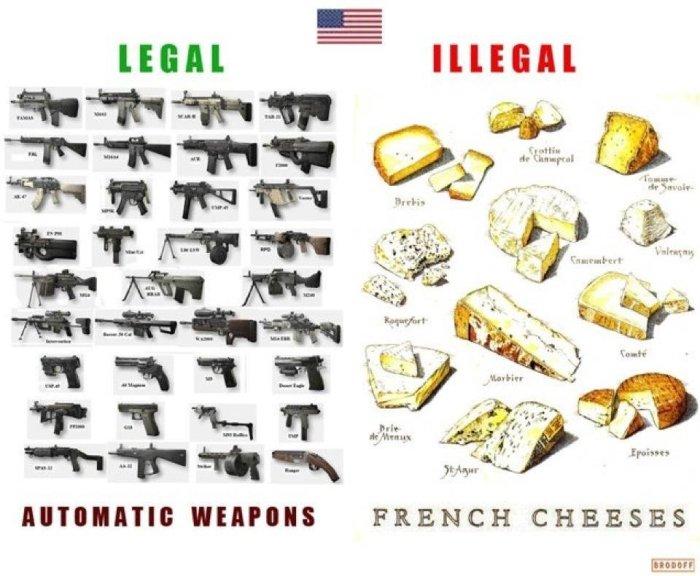 guns and cheeses