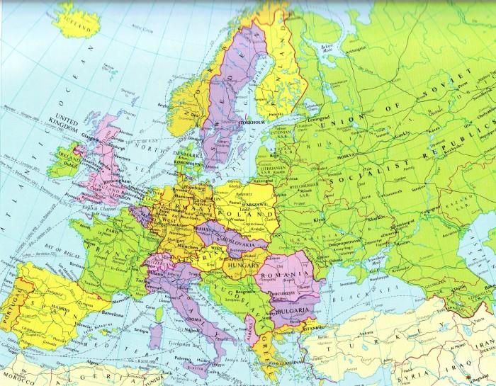 Eastern Europe 1956