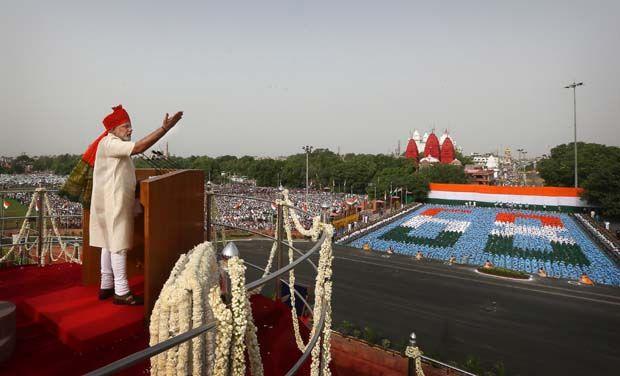 modi india independence day